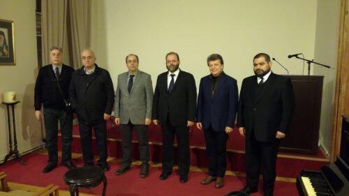 Το νέο Διοικητικό Συμβούλιο Μουσικοφίλων Πέραν