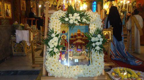 Ι. Ν. Αγ. Γεωργίου Ταύρου: Εορτή Ανακομιδής Λειψάνων του Αγίου