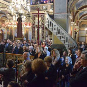 Μητρόπολη Μεγάρων: Πανηγυρική Θεία Λειτουργία Αγίου Μηνά Πολιούχου Σαλαμίνος