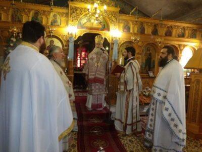 Μητρόπολη Κορίνθου: Θεία Λειτουργία στον Πανηγυρίζοντα Ναό του Αγ. Μεγαλομάρτυρος Μηνά