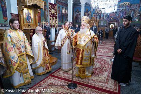 Με λαμπρότητα εορτάσθηκε στη Βραχιά η μνήμη της Αγίας Αικατερίνης της Πανσόφου
