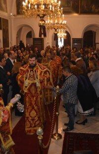 Ρόδος: Πλήθος πιστών στην εορτή του Αγίου Νεομάρτυρος Κωνσταντίνου του Υδραίου