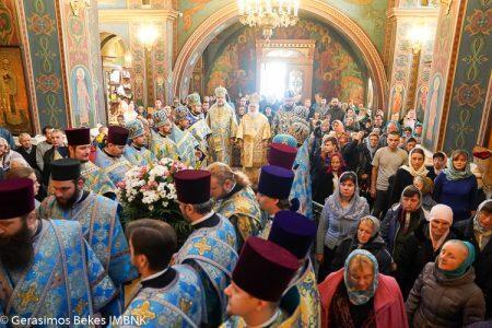 Πολυαρχιερατικό συλλείτουργο στη Βίνιτσα (Ουκρανία) για το Ιωβηλαίο του Σεβασμιωτάτου κ. Συμεών