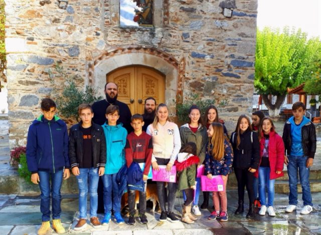 Προσκυνηματική εκδρομή στον Άγιο Γεώργιο Αρμά πραγματοποίησε το Κατηχητικό τού Ιερού Ναού Γενεθλίου της Θεοτόκου Λούτσας
