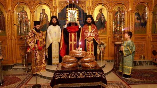 Η Αγρυπνία για την εορτή του Αγίου Ανδρέα στον Άγιο Αθανάσιο Λαρίσης
