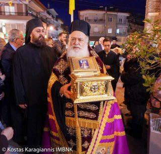 Με λαμπρότητα πανηγύρισε ο Ιερός Ναός του Αγίου Μεγαλομάρτυρος Μηνά στην Νάουσα