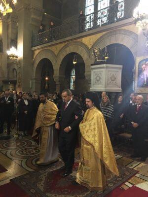 Μητρόπολη Γαλλίας: Νέος Άρχων του Οικουμενικού Θρόνου ο Ανέστης Αρνόπουλος