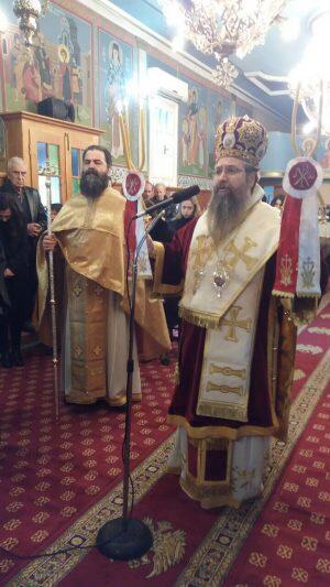 Αρχιερατική Θεία Λειτουργία και Ιερά Μνημόσυνα στον Ιερό Ενοριακό Ναό Αγίου Γεωργίου Πινακοχωρίου