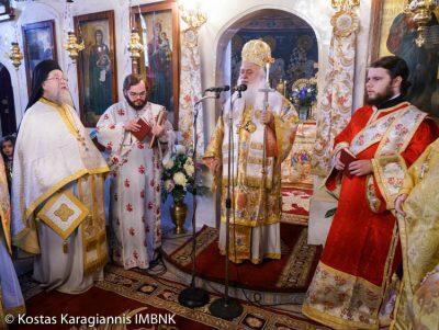 Λαμπρή Εορτή του Αγίου Αποστόλου Ανδρέου στον Πλάτανο Ημαθίας