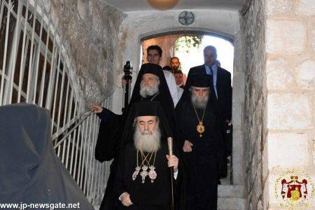 Λαμπρή Εορτή Αγίου Ιακώβου Αδελφοθέου στο Πατριαρχείο Ιεροσολύμων