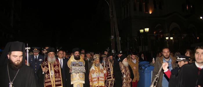Ο Μητροπολίτης Φθιώτιδος Νικόλαος στη Λάρισα για την Αγία Ζώνη