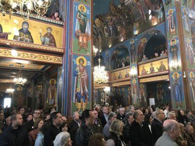 Πλήθος πιστών στην Εορτή των Αγίων Αναργύρων στη Νέα Ιωνία