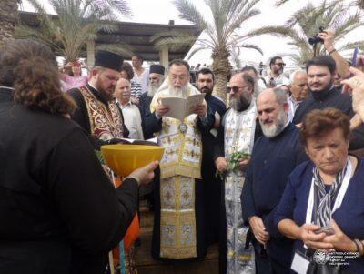 Η προσκυνηματική επίσκεψη του Μητροπολίτη Κορίνθου στους Αγίους Τόπους
