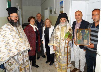Λαμπρός Εορτασμός Αγίων Αναργύρων στη Μητρόπολη Λέρου