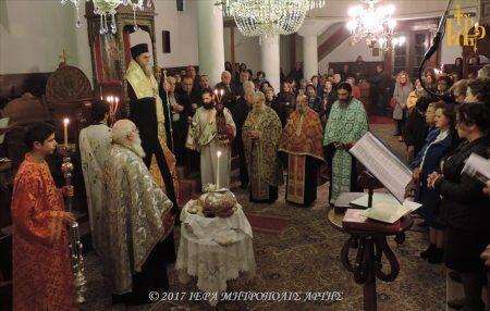 Λαμπρή Πανήγυρις Αγίου Μερκουρίου στον Ναό του Επισκοπείου Άρτης