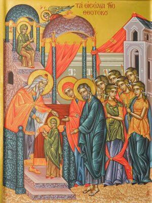 Μονή Προφήτου Ηλία Θήρας: Ιερά Αγρυπνία για την εορτή των Εισοδίων της Θεοτόκου