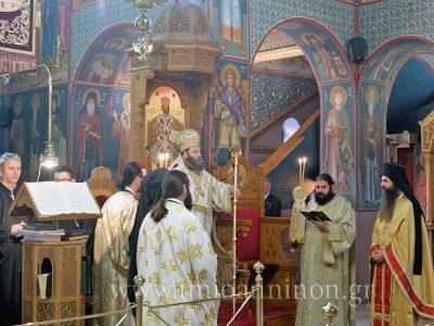 Μητρόπολη Ιωαννίνων: Θεία Λειτουργία στο Νεομάρτυρα Άγιο Γεώργιο