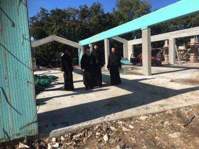 Ο Κερκύρας Νεκτάριος επέβλεψε τα έργα που εκτελούνται στις Κατασκηνώσεις της Ιεράς Μητροπόλεως