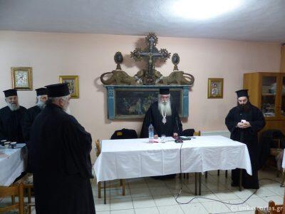 Καστοριά: Ιερατική Σύναξη στον Ιερό Ναό Αγίων Πάντων