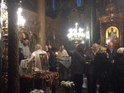 Σαρακοστή των Χριστουγέννων: Αγρυπνία στον Ι.Ν. Αγ. Στεφάνου Ν. Ιωνίας
