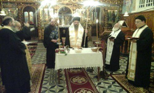 Ιερό Ευχέλαιο στις Ενορίες Καλαμιτσίου και Αγίου Ηλία