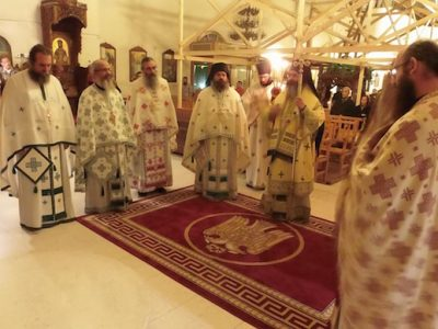 Άγιος Ιάκωβος Τσαλίκης: Πρώτη Πανηγυρική Ιερά Αγρυπνία στη Μητρόπολη Λεμεσού