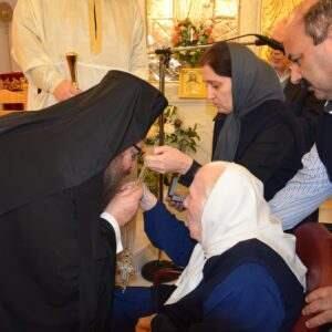 Χοροστασία Μεγάρων Κωνσταντίνου στο Ίδρυμα της Παναγίας Φανερωμένης – Μάνδρας