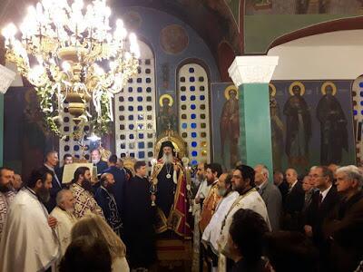 Μητρόπολη Αλεξανδρουπόλεως: Πανήγυρις Αγίων Αναργύρων στο Ιωακείμειο Γηροκομείο και στον Πόρο