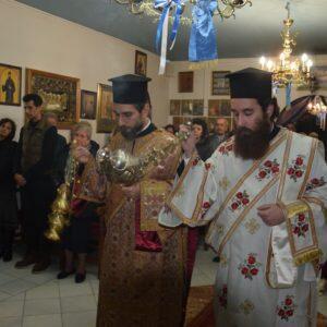 9 Νοεμβρίου γιορτή Αγίου Νεκταρίου-Μέγας Εσπερινός στην Συνοικία Παπακώστα – Μάνδρας