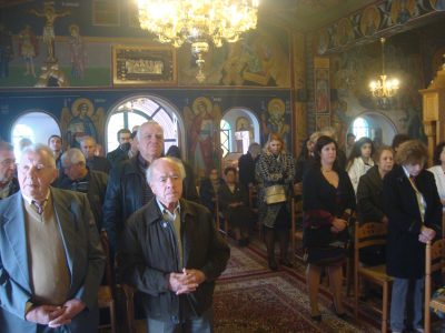 Μητρόπολη Κορίνθου: Θεία Λειτουργία στον Άγιο Φανούριο Λουτρακίου