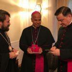Με τον Αποστολικό Νούντσιο στο Τόκιο συναντήθηκε ο Μητροπολίτης Ιλαρίωνας