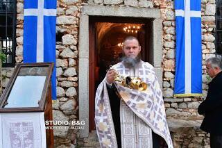 Λαμπρή Εορτή του Αγίου Ανδρέα στο Κάστρο Ναυπλίου