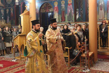 Μητρόπολη Θεσσαλιώτιδος: Σύναξις των αρχιστρατήγων Μιχαήλ και Γαβριήλ