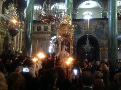 Η σημερινή Πατριαρχική Λειτουργία στο Πέραν