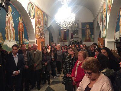 Μητρόπολη Παροναξίας: Πανηγυρικός Εσπερινός στον πανηγυρίζοντα Ιερό Ναό Παμμεγίστων Ταξιαρχών