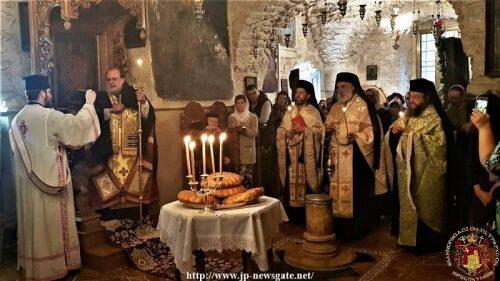 Εορτή της Συνάξεως των Αρχαγγέλων στην Παλαιά Πόλη των Ιεροσολύμων