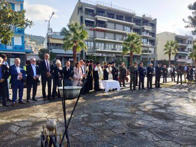 Λαμπρός Εορτασμός Εθνικής Αντιστάσεως στην Ηγουμενίτσα