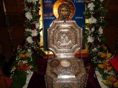 Τώρα-ζωντανά: Η Τίμια Κάρα του Αγίου Ραφαήλ στη Θεσσαλονίκη-Αρχιερατική Θεία Λειτουργία