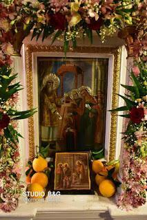 Λαμπρή Εορτή των Εισοδίων της Θεοτόκου στη Νέα Τίρυνθα Αργολίδος