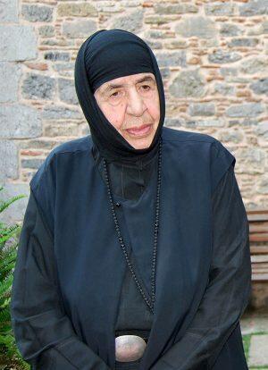 Εξάμηνο Μνημόσυνο Μακαριστής Γερόντισσας Χριστοδούλης, Καθηγουμένης Ιεράς Μονής Ιερουσαλήμ Δαυλείας