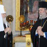 Συγχαρητήρια επιστολή του Πατριάρχη Μόσχας στον Αρχιεπίσκοπο Κύπρου