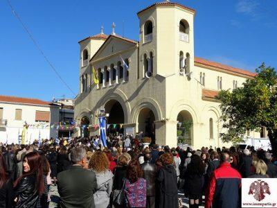 Σπάρτη: Με θρησκευτική λαμπρότητα η πανήγυρη του Πολιούχου Οσίου Νίκωνος