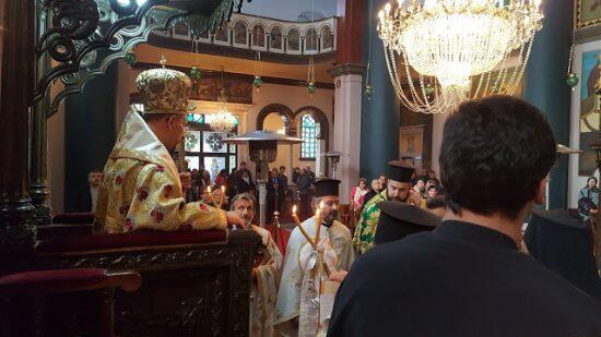 Λαμπρά εορτάσθηκε η μνήμη του Αγίου Γεωργίου του Χιοπολίτου στο Κοντοσκάλι