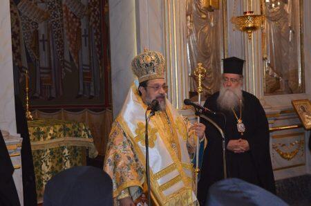 Βίντεο: Ο Μετεώρων Θεόκλητος στα Ονομαστήρια Μητροπολίτη Μεσσηνίας-αύριο η Διαβεβαίωση