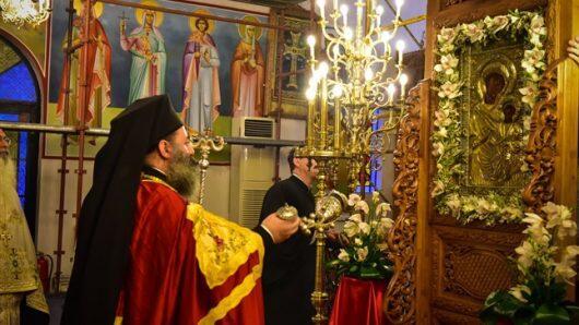 Ενθρόνιση της Παναγίας της Πορταϊτίσσης στον Ιερό Ναό Κωνσταντίνου και Ελένης Ασσήρου