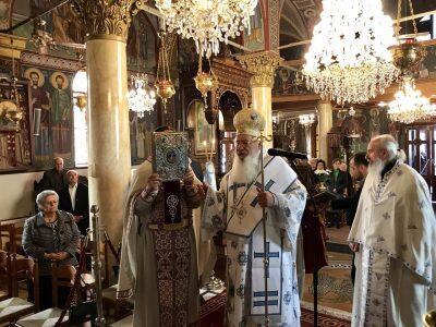 Μητρόπολη Θηβών: Εορτή Ανακομιδής Ιερών Λειψάνων Αγίου Γεωργίου