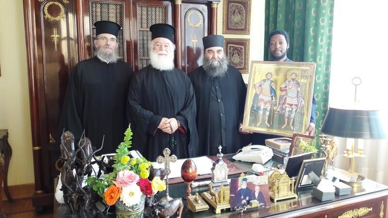 Επίσκεψη του Επισκόπου Αρούσας στο Πατριαρχείο Αλεξανδρείας