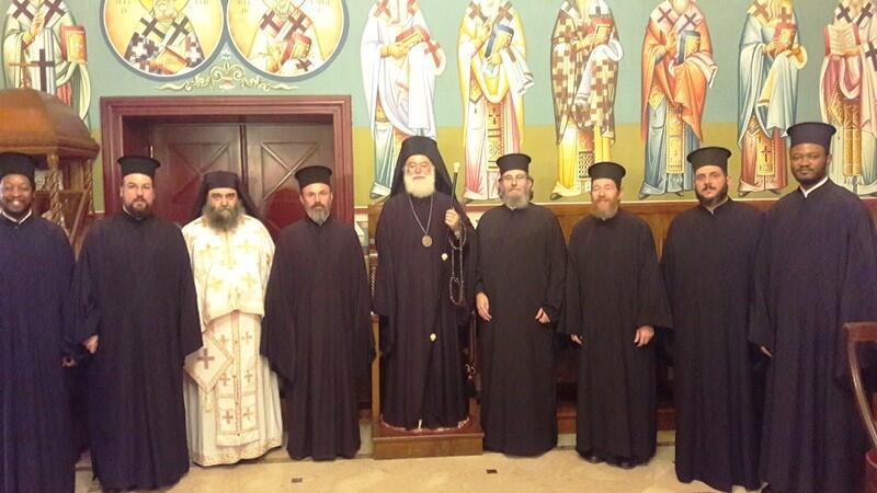 Επίσκεψη Επισκόπου Αρούσας Πατριαρχείο Αλεξανδρείας