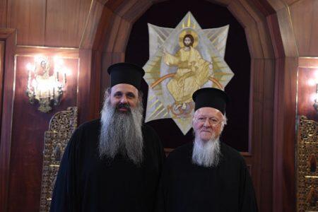 Την ευλογία του Οικουμενικού Πατριάρχη πήρε ο Μετεώρων Θεόκλητος
