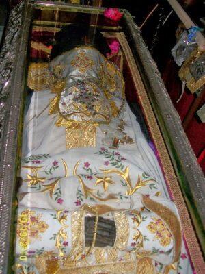 3 Νοεμβρίου γιορτή Ανακομιδής Ιερών Λειψάνων Αγίου Γεωργίου-το Άφθαρτο Λείψανο